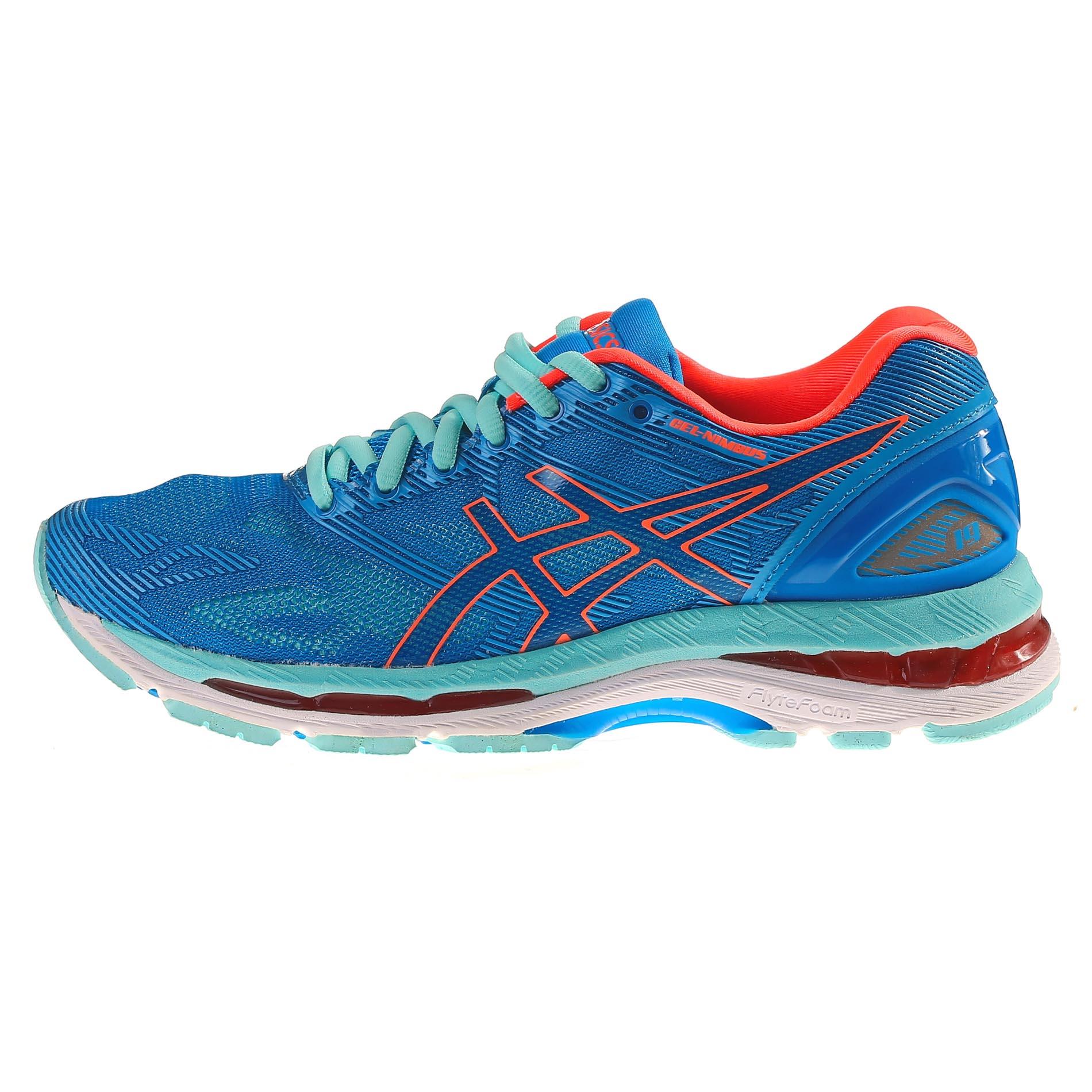 מעולה  LimeShoes - נעלי ריצה לנשים אסיקס GEL-Nimbus 19 - איכות פורצת דרך DU-12