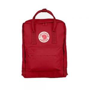 Kanken Classic תיק גב קלאסי 16 ליטר בצבע אדום עמוק